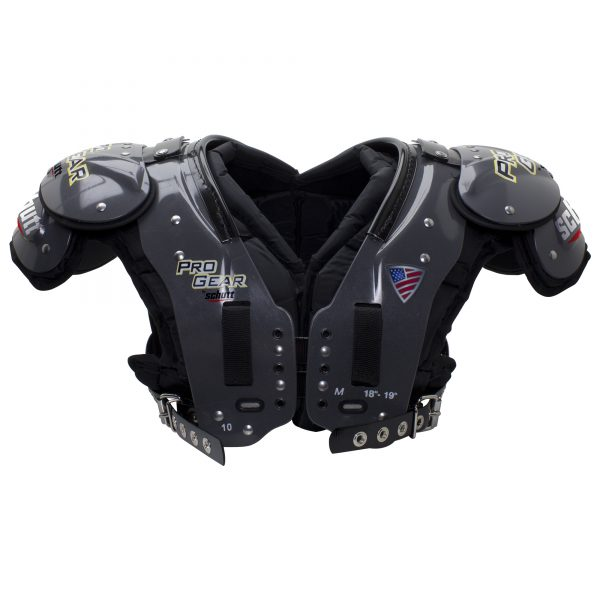 CL-10-Pro-Gear-Shoulder-Pad_Varsity_Medium_Front-CL-10-M